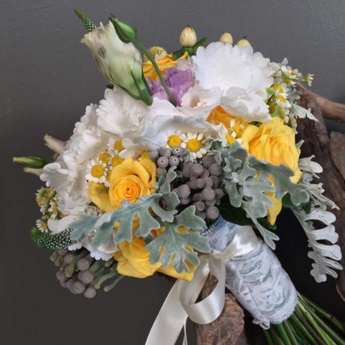 Νυφικό Μπουκέτο Γάμου Ορτανσία