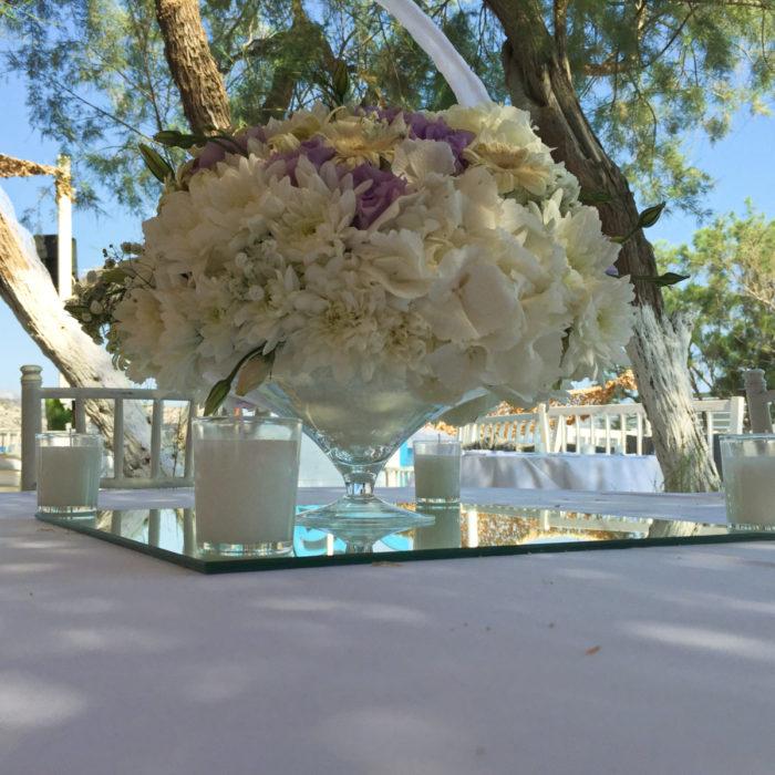 Wedding Reception Decoration Martini Glass