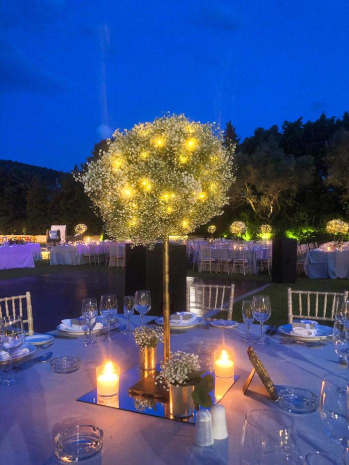 Wedding Reception Centerpiece Cloud
