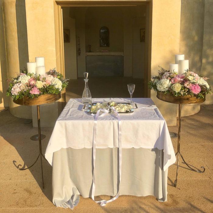 Orthodox Bridal Candles Gold