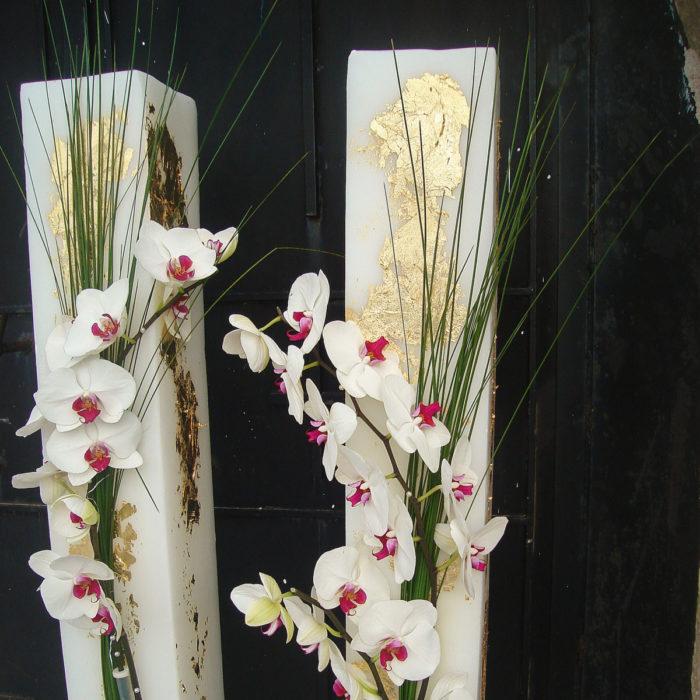 Λαμπάδες Γάμου Ορχιδέες Φαλενόψις