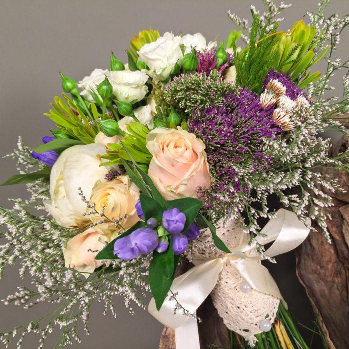 Bridal Bouquet Roses Peonies