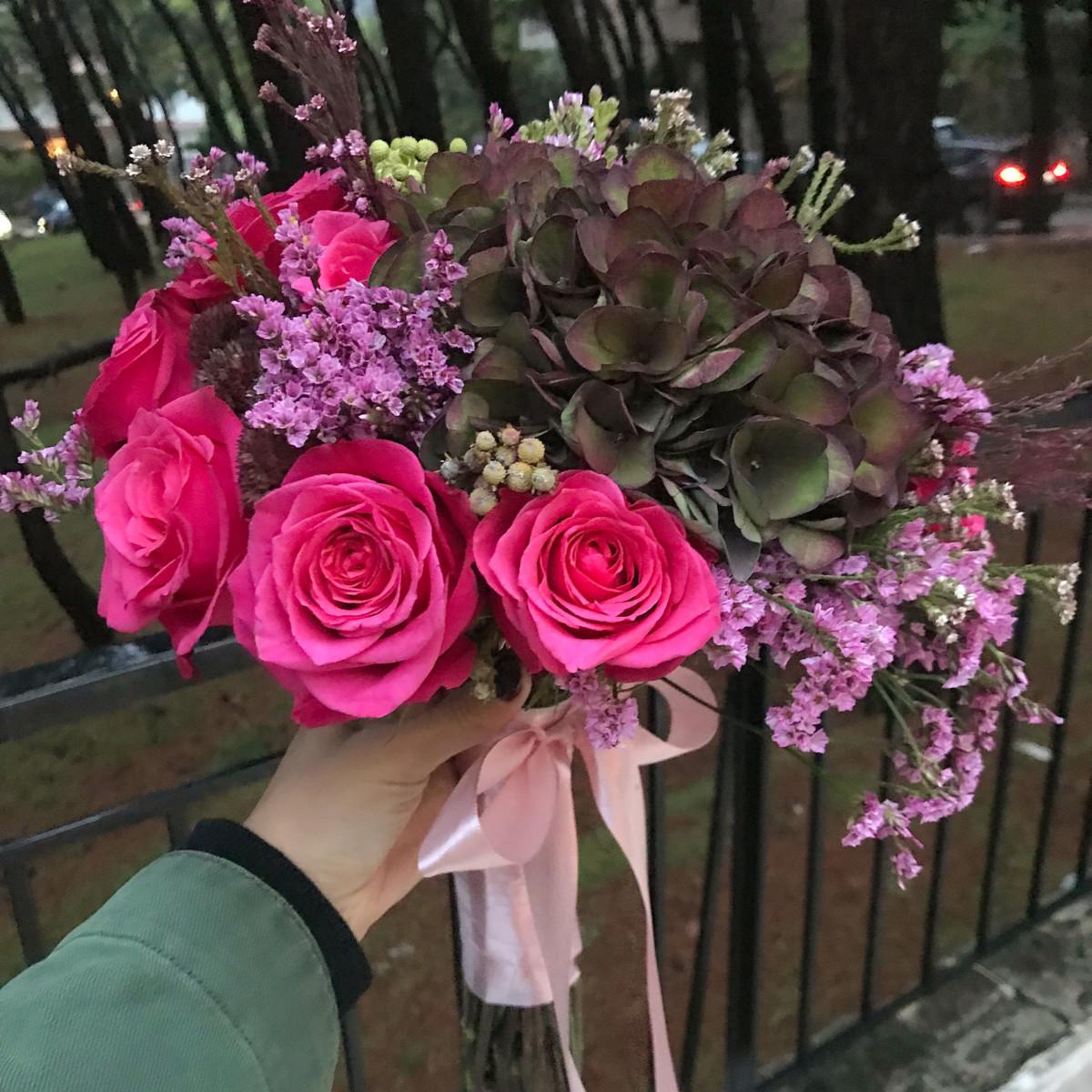 Bridal Bouquet Antique Green