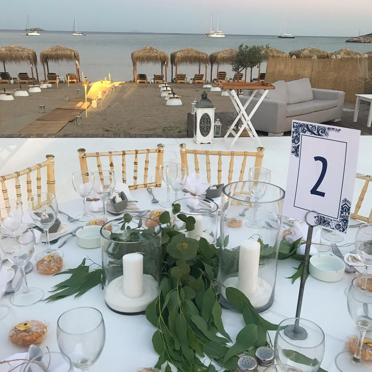 Wedding Reception Amaltheia Riviera
