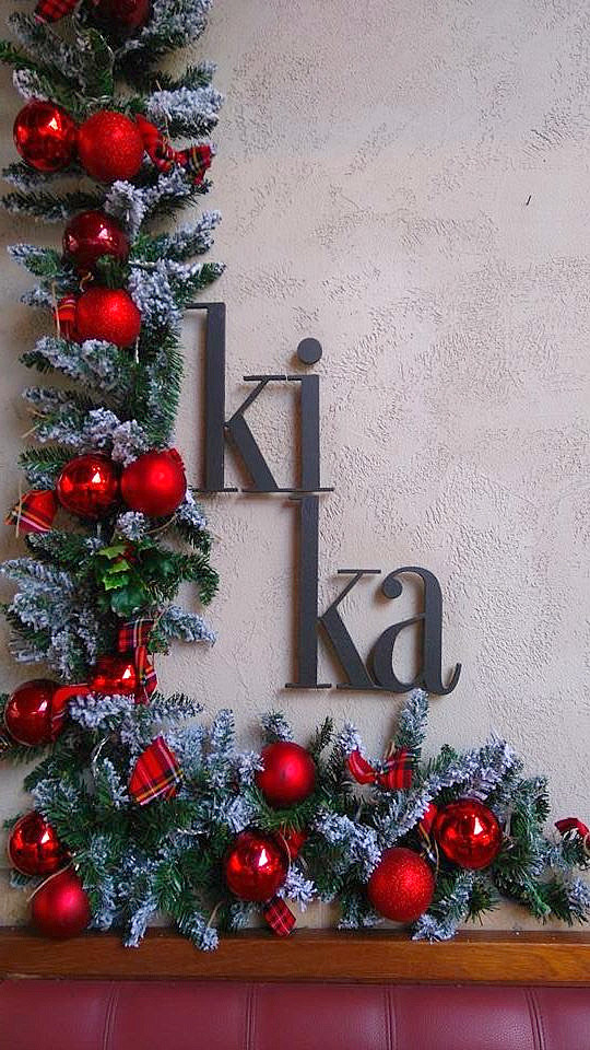 Christmas Decoration Kika Cafe
