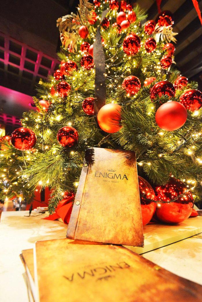 Christmas Decoration Enigma Cafe