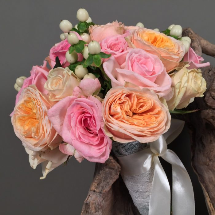 Bridal Bouquet David Austin Roses
