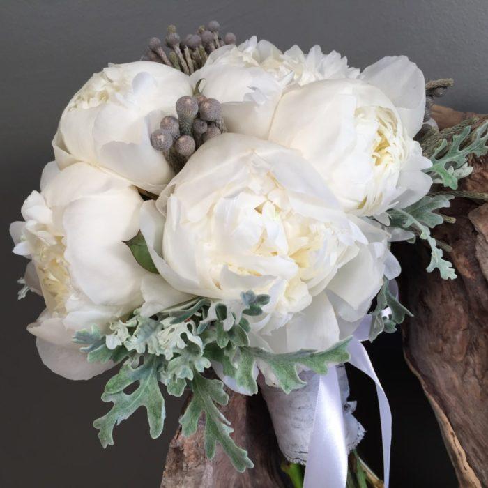Bridal Bouquet Dusty Miller