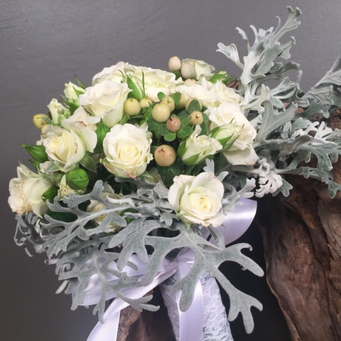 Bridal Bouquet Mini Roses