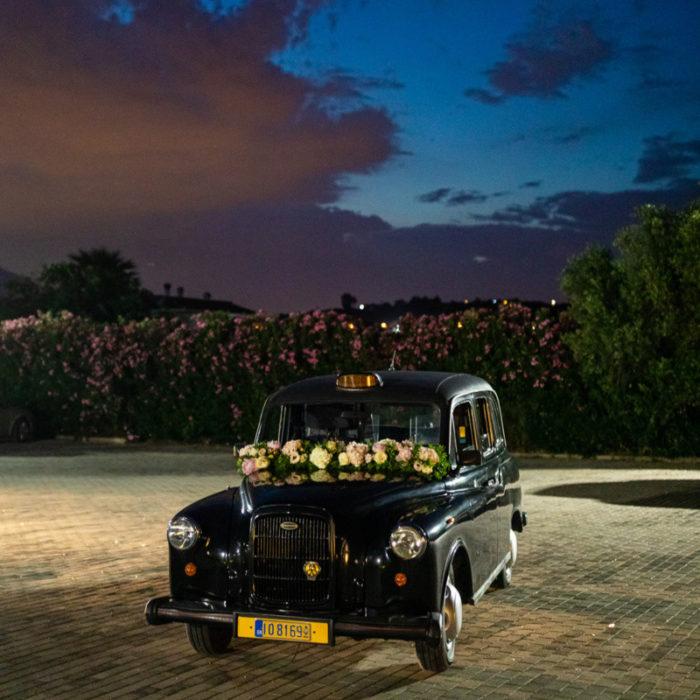 Αυτοκίνητο Γάμου Αγγλικό Ταξί