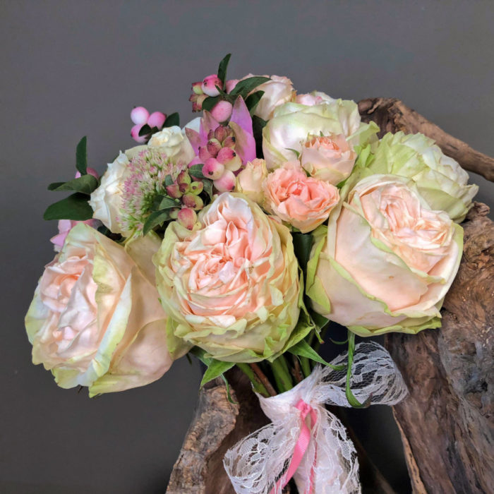 Bridal Bouquet Pastel Color Flowers