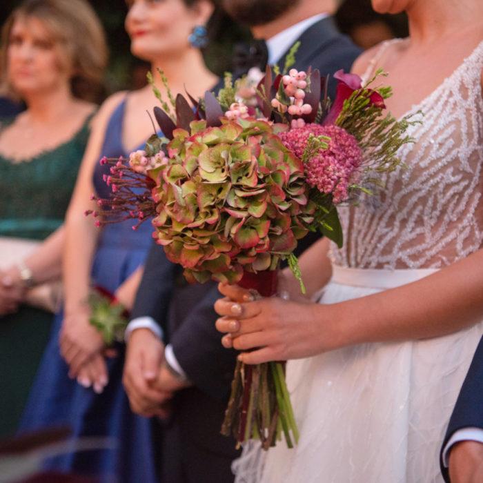 Νυφική Ανθοδέσμη Φθινοπωρινού Γάμου