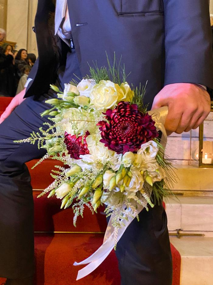Bridal Bouquet Dahlia Astilbe