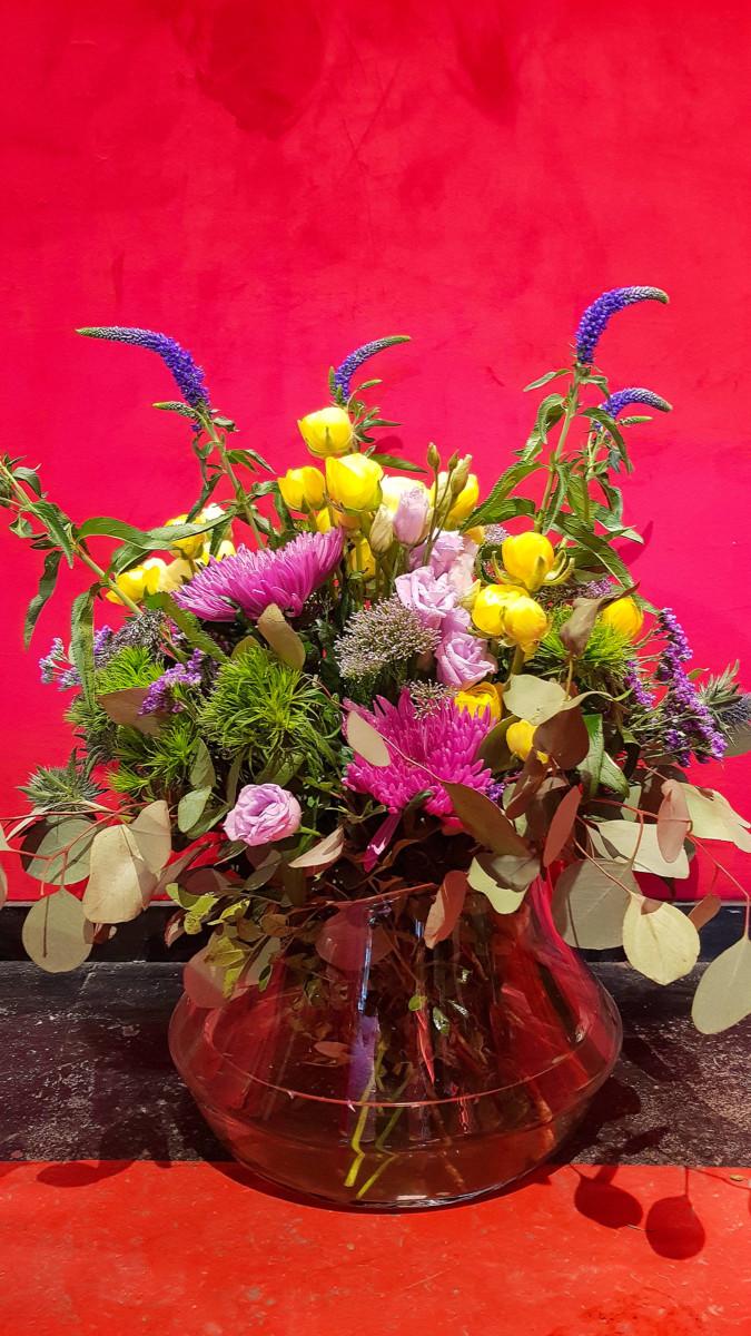 Ανθοδέσμη Ανοιξιάτικα Λουλούδια Βερόνικες