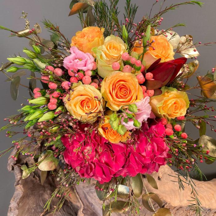 Νυφική Ανθοδέσμη Γάμου Τριαντάφυλλο
