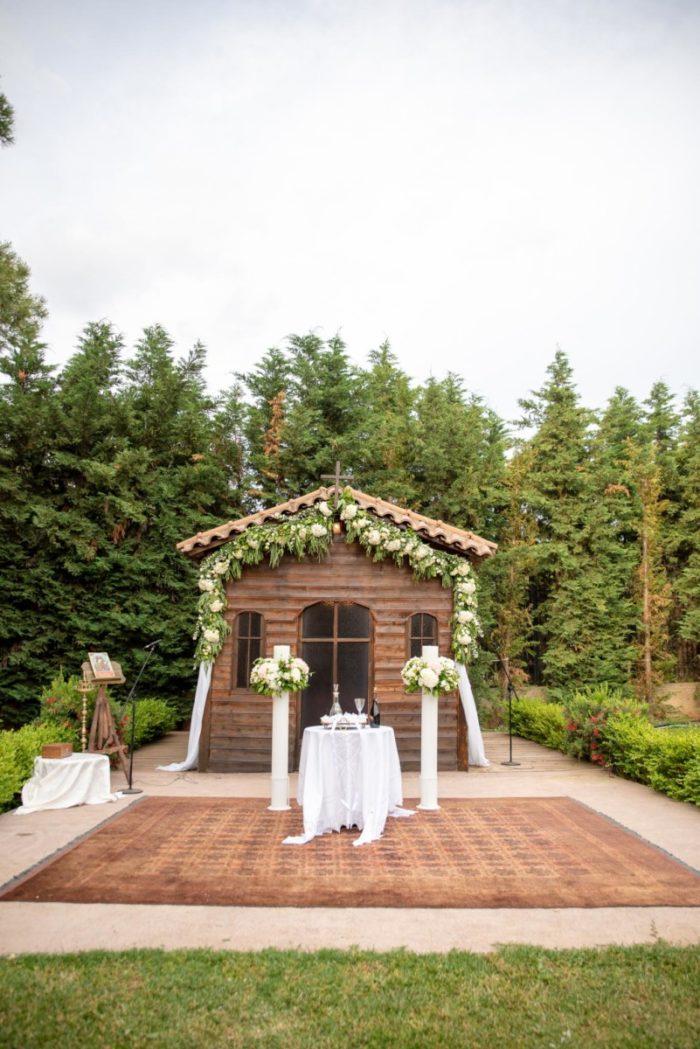 Λαμπάδες Γάμου Στολισμός Στεφάνι