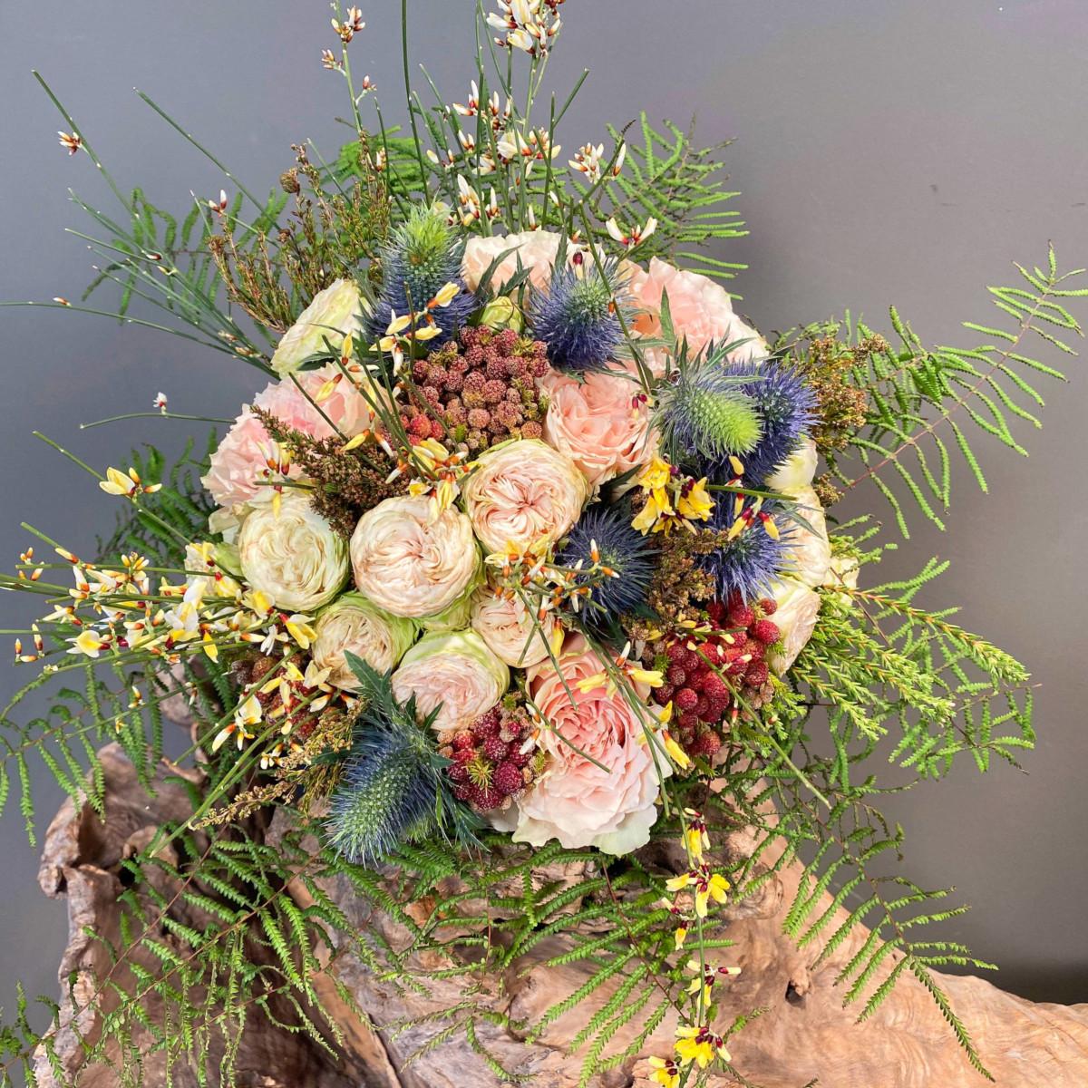 Bridal Bouquet Eringium Safari