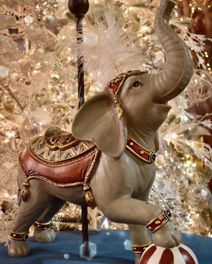 Χριστουγεννιάτικο Διακοσμητικό Ελέφαντας Carousel