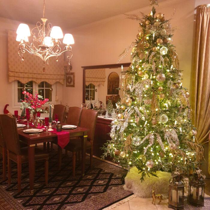 Χριστουγεννιάτικη Διακόσμηση Χριστουγεννιάτικου Ρεβεγιόν