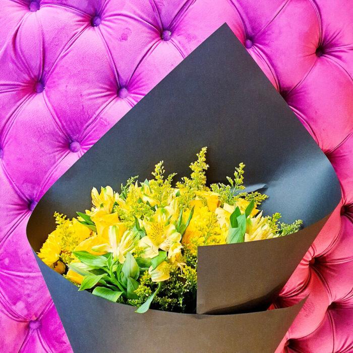 Μπουκέτο Κίτρινα Λουλούδια