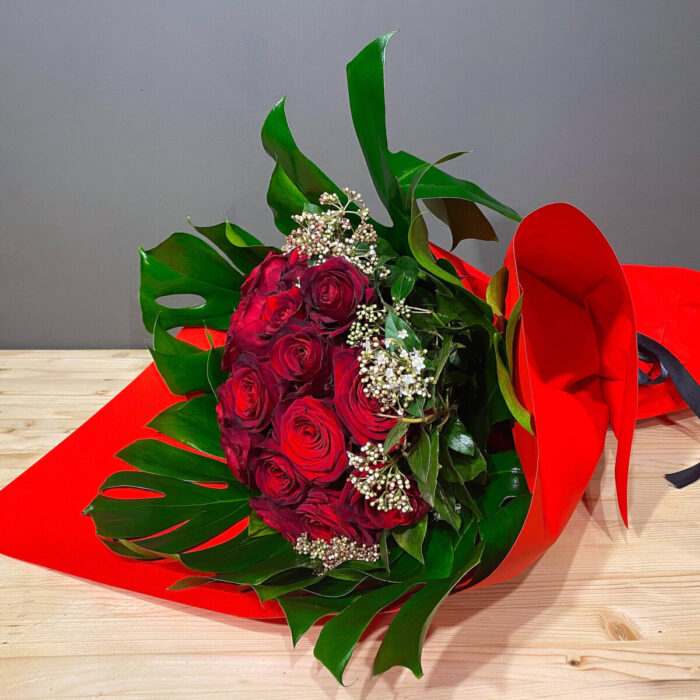 Μπουκέτο Τριαντάφυλλα Κόκκινα Βαλεντίνο