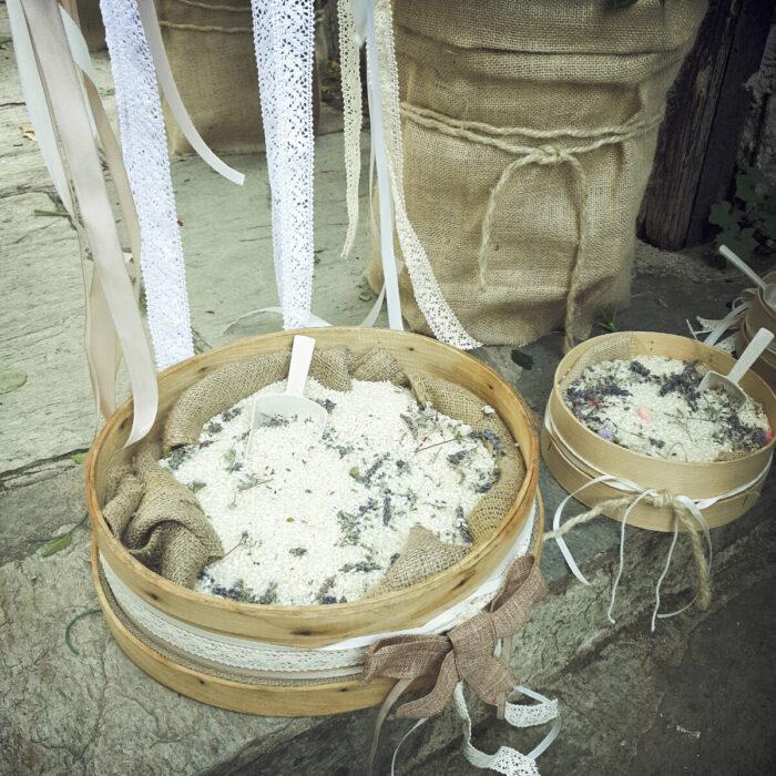 Γωνιά Ρυζιού Κόσκινο Λεβάντες Αποξηραμένες