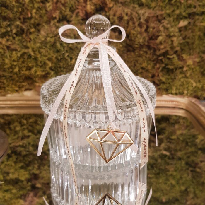 Glass Box Bonbonniere for Wedding