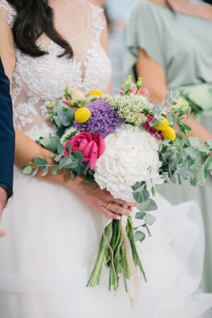 Bridal Bouquet Boho Colors