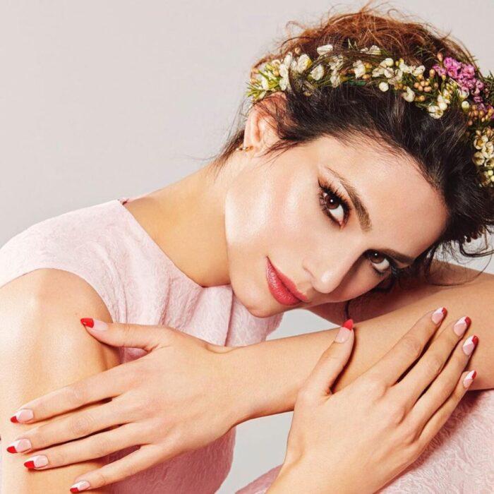 Στεφανάκι Λουλουδιών Φωτογράφιση Laloo Cosmetics