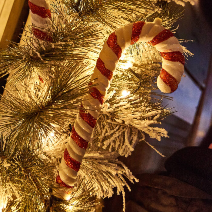 Christmas Decoration Candy Canes