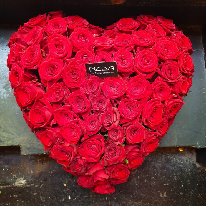 Heart Red Roses Valentine