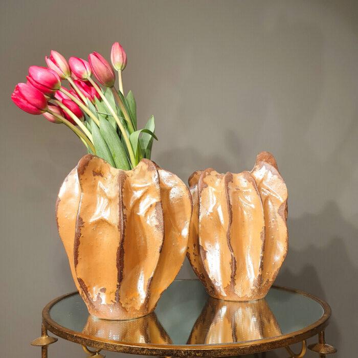 Vases Decorative Red Tulips