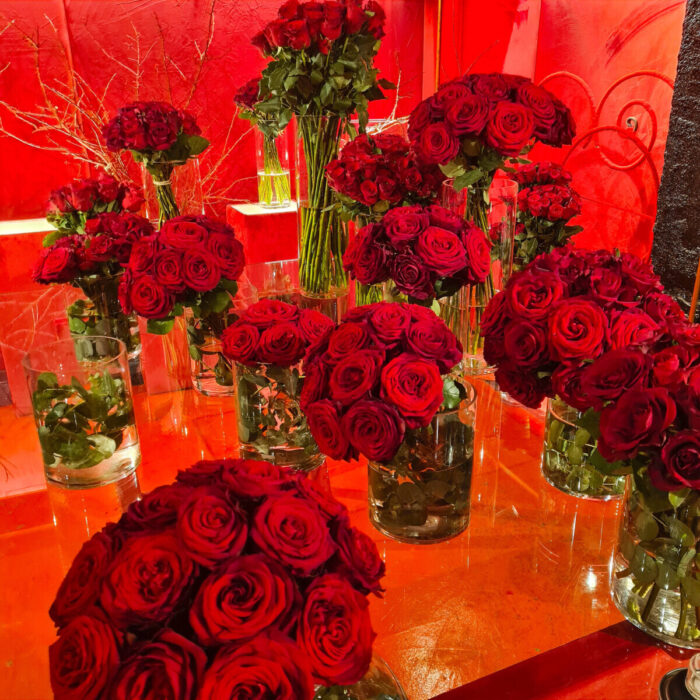 Bouquet Red Roses Valentine