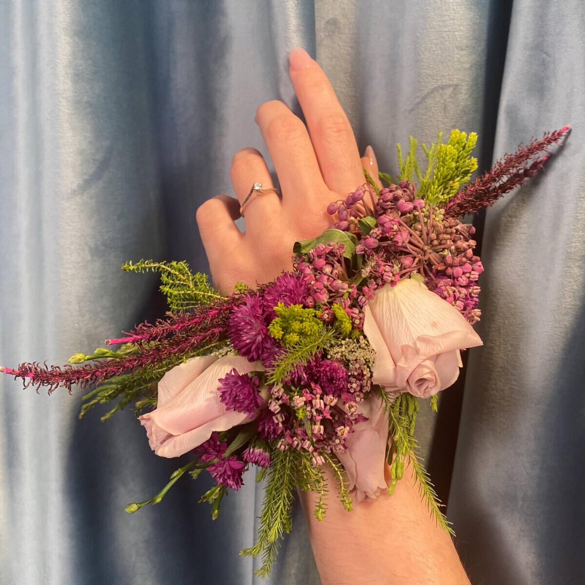 Bridal Flower Bracelet Accessory