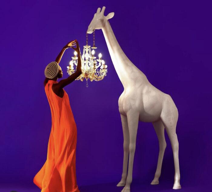 Decorative Giraffe Lamp Chandelier