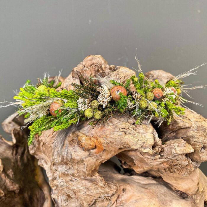 Αξεσουάρ Μαλλιών Νύφης Κουάφ Safari Pampas Grass