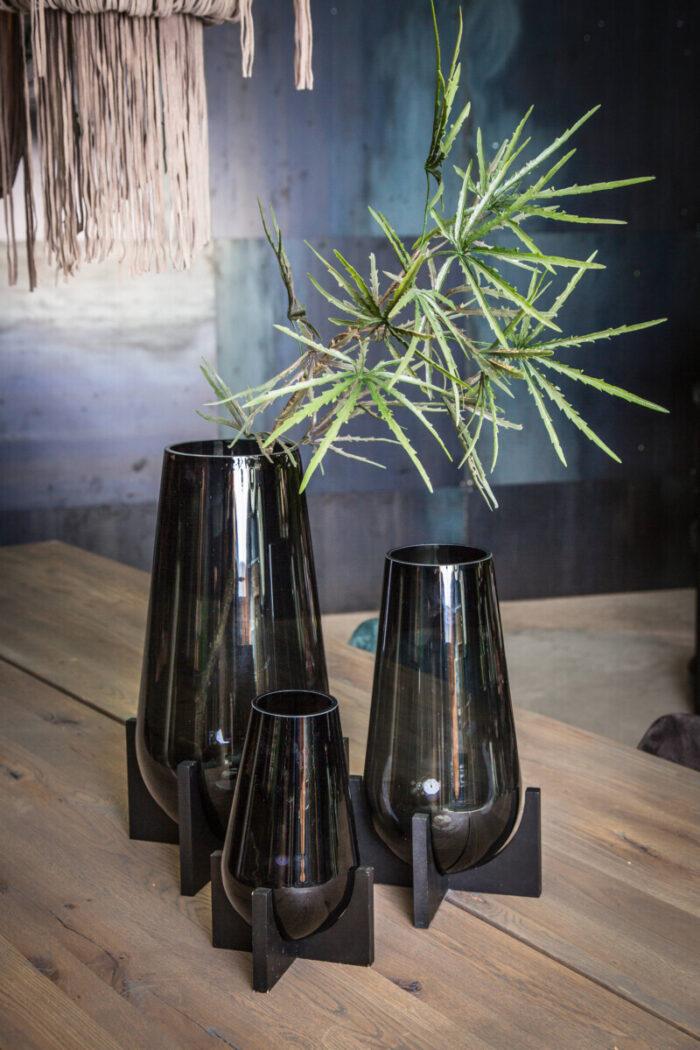 Home Decoration Black Vases