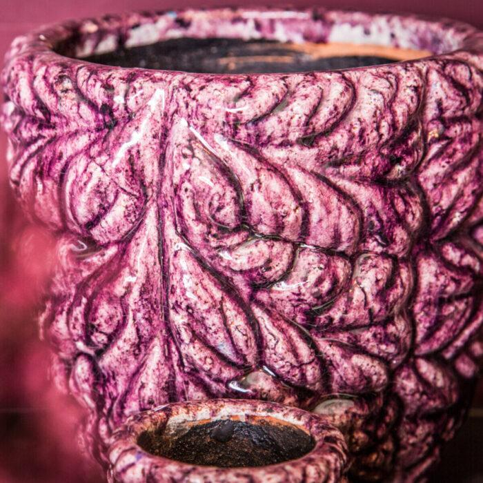 Home Decoration Pot Purple Shade