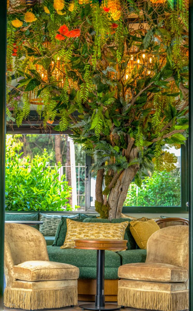 Διακόσμηση Λουλούδια Πρασινάδες Νάρκισσος