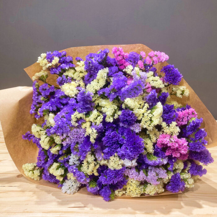 Bouquet Amaranth Purple Yellow Lilac Pink