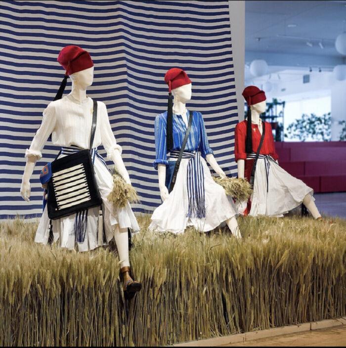 Decoration Dried Wheat Sheaves Benaki Museum