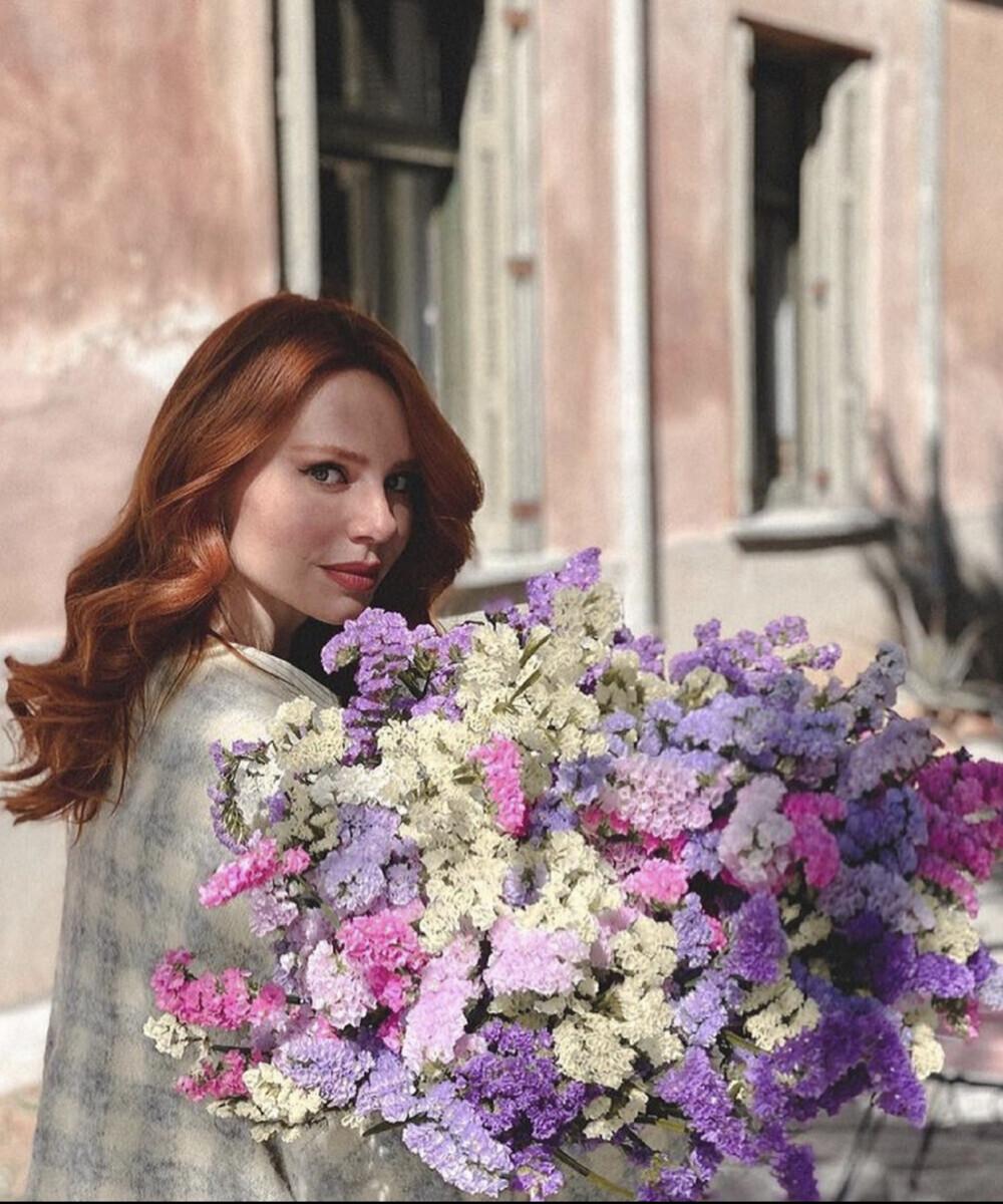 Bouquet Colorful Amaranthus Evelyn Kazantzoglou