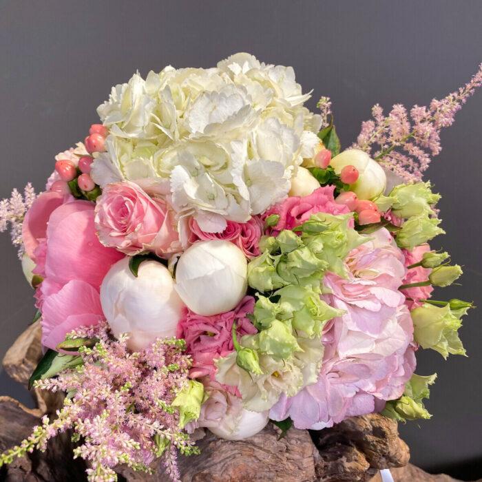 Bridal Bouquet Pink White